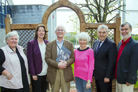 Pictured at the launch of City and Cemetery: A History of Mount Saint Lawrence were Dr. Ursula Callaghan, Dr. Hélène Bradley Davies, Dr. Mathew Potter, Dr. Maura Cronin, Prof. Michael A Hayes and Kieran Lehane, Director of Public Services.